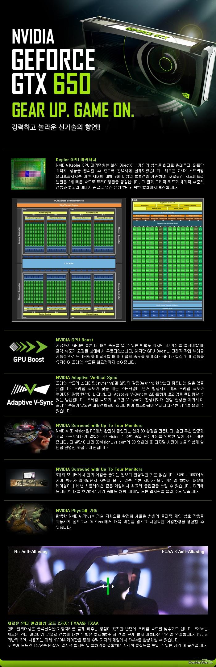 MTOP 지포스 GTX 650 D5 1GB 128BIT 프리미엄 GTX650 설명