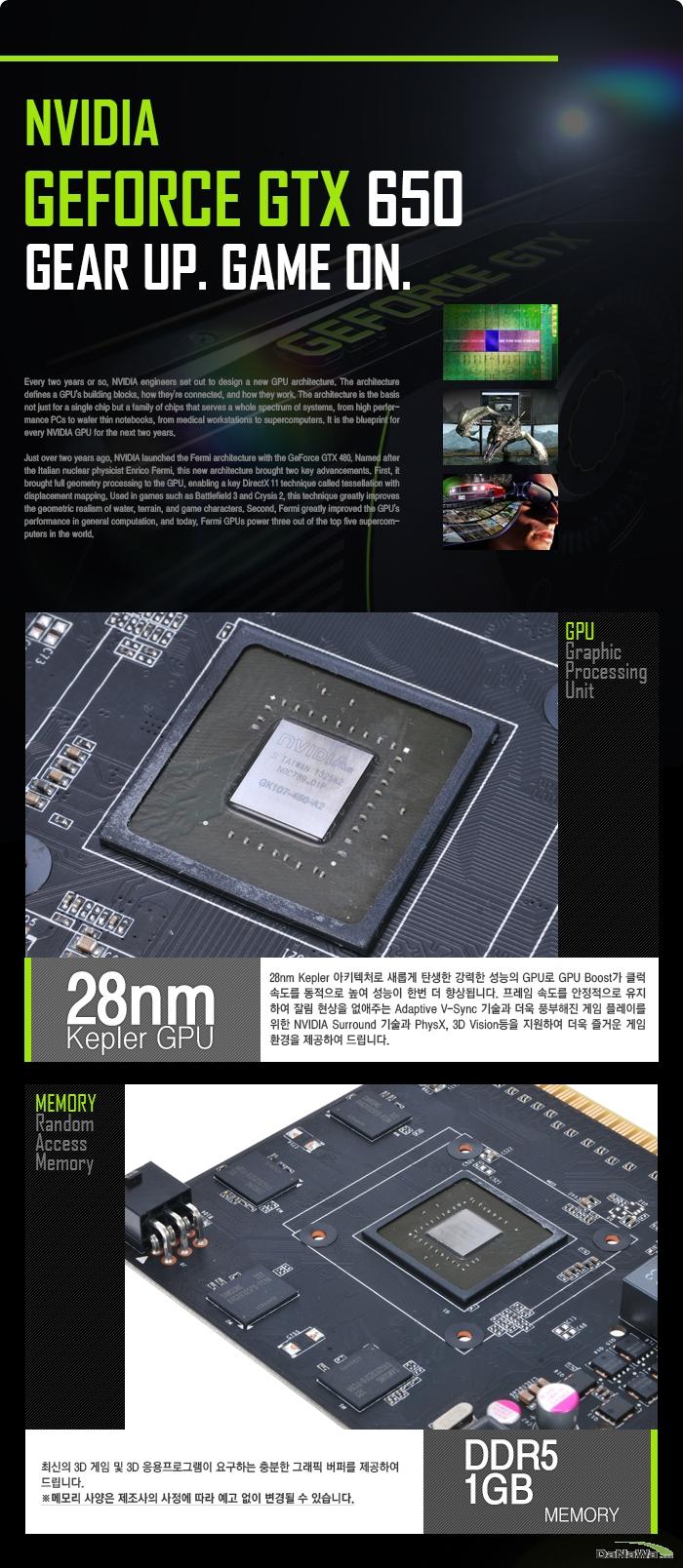 MTOP 지포스 GTX 650 D5 1GB 128BIT 프리미엄 GTX 660 GPU 및 메모리 설명과 이미지