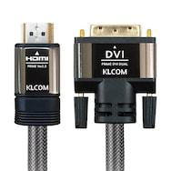 케이엘시스템 KLcom PRIME 고급형 HDMI 2.0 to DVI 케이블 (3m, KL44)