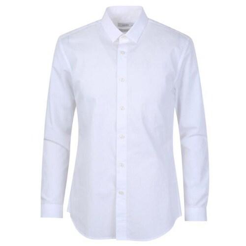 신성통상 지오지아 도비조직 포인트 드레스 셔츠 ABY1WD1101WT_이미지