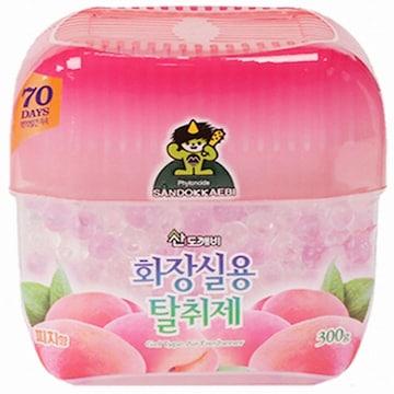 산도깨비 화장실용 탈취제 피치향 300g(1개)