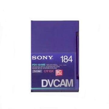 SONY PDV-184N DVCAM 184분 DV테이프 (3개)_이미지