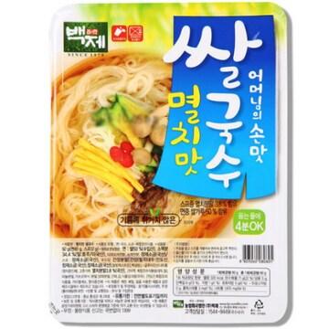 백제 쌀국수 멸치맛 92g