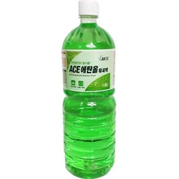 에이스라이언 ACE 에탄올 워셔액 1.8L(1개)