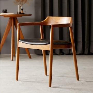 진성무역 나무뜰 플럼 애쉬원목 카페 의자