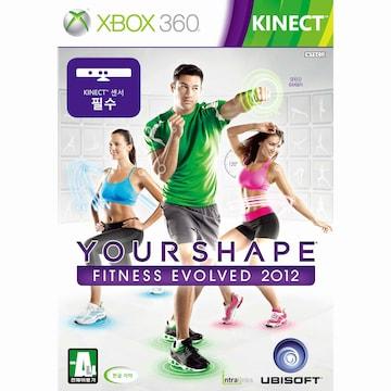 유비소프트 유어 쉐이프 2012 XBOX360