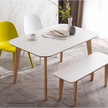 웨스트프롬 모던 에스메랄다 원목 라운드 식탁 1600 (의자별도)_이미지