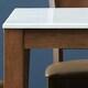 아씨방 미켈 대리석 식탁세트 1600 (의자3개+벤치1개)_이미지