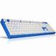앱코 HACKER K6500 PBT 스페셜 블루 에디션 (청축)_이미지