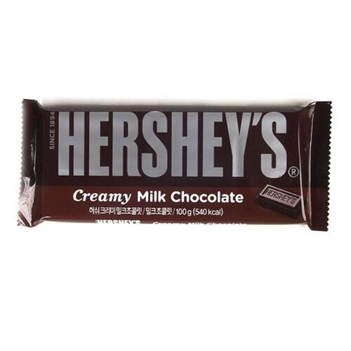 허쉬  크리미 밀크 초콜릿 100g (3개)_이미지