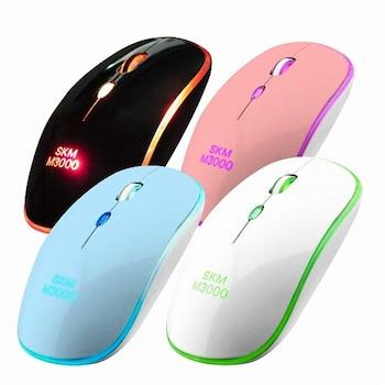 FLY with SK엠앤서비스 SKM-M3000 LED 마우스 (화이트)