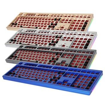 COX 갤리온 CNC 풀 알루미늄 RGB 108키 DIT KIT (샴페인 골드)