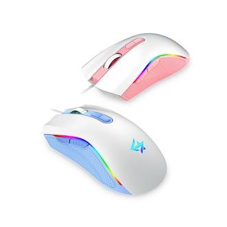세컨드찬스 GEEKSTAR GM500 게이밍 마우스 (핑크)_이미지
