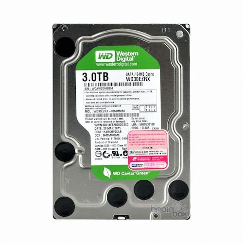 Western Digital WD 3TB GREEN WD30EZRX (SATA3/5400/64M)_이미지
