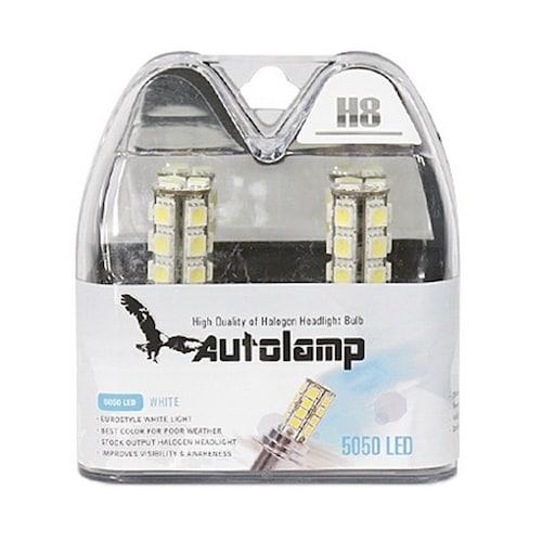 오토램프  5050 울트라 화이트 LED 안개등 (H8)_이미지