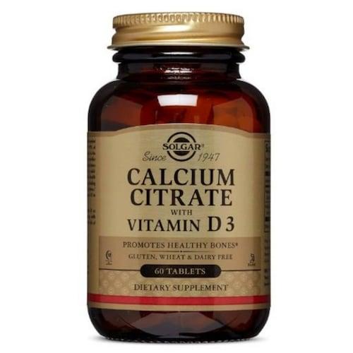 솔가  구연산 칼슘 위드 비타민 D3 60정 (1개)_이미지