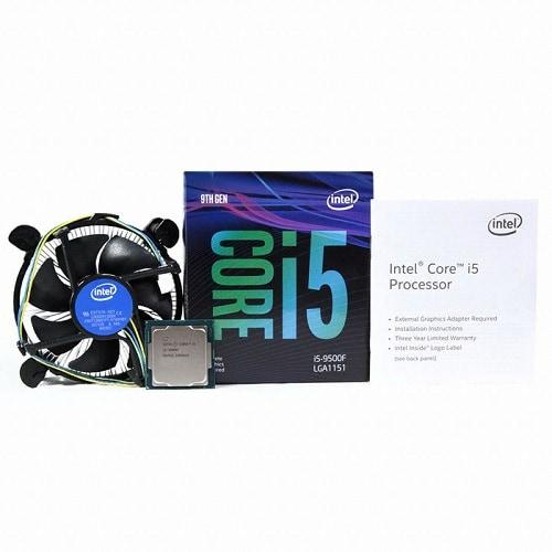 인텔 코어i5-9세대 9500F (커피레이크-R) (정품)_이미지