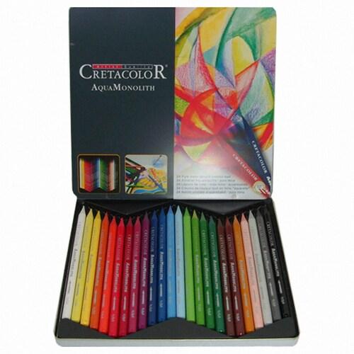 크레타칼라 통심 수채 색연필 (24색)