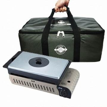 비젼코베아  코베아 KN8BB0104 3웨이 올인원 L, 알루미늄뚜껑+다크그레이 가방