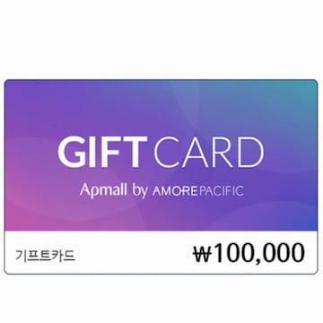 아모레퍼시픽 아모레퍼시픽몰 기프트카드(10만원)