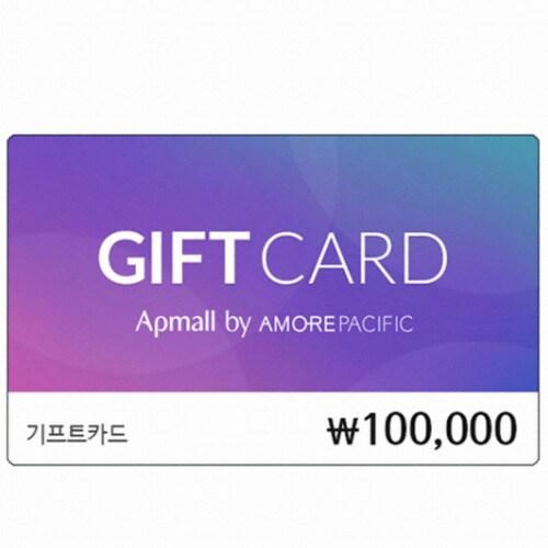 아모레퍼시픽 아모레퍼시픽몰 기프트카드 (10만원)