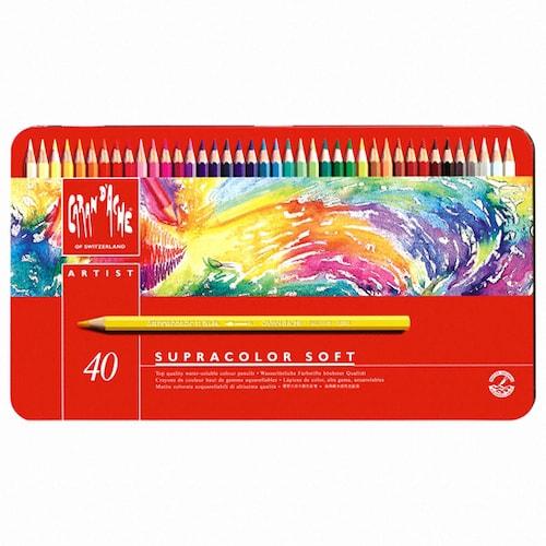 까렌다쉬 슈프라컬러 수채색연필 (40색)