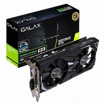 갤럭시 GALAX 지포스 GTX 1650 BLACK EX D6 4GB