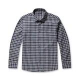 코오롱인더스트리 브렌우드 컬러 깅엄 체크 포켓 셔츠 BRSAW17443GRX_이미지
