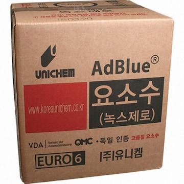 유니켐  녹스제로 요소수 큐비테이너형 10L