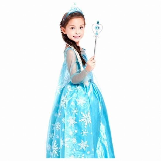 한중 겨울왕국2 엘사 드레스 고급형 라이팅