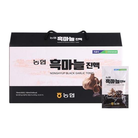 충북인삼농협 농협 흑마늘진액 70ml 30포(1개)