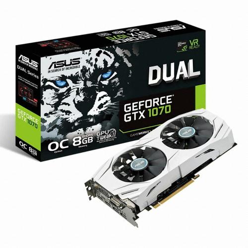 ASUS DUAL 지포스 GTX1070 O8G D5 8GB