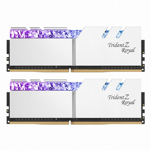 G.SKILL DDR4 16G PC4-25600 CL14 TRIDENT Z ROYAL 실버 (8Gx2)