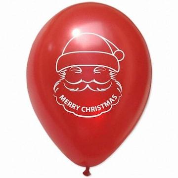 파티해 크리스마스 풍선 30cm - 산타(레드)