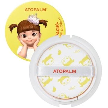 네오팜 아토팜 콩순이 톡톡 페이셜 선팩트 리필 15g (1개)