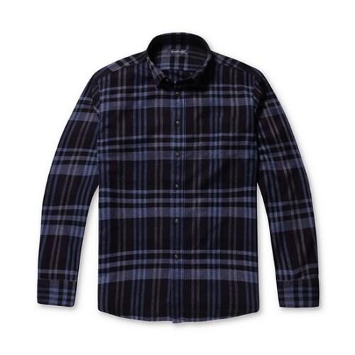 코오롱인더스트리 브렌우드 타탄 체크 트윌 셔츠 BRSAW17451PPX_이미지