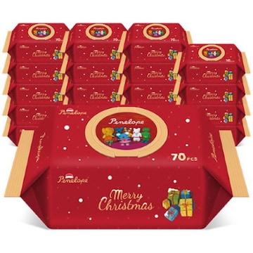 페넬로페  크리스마스 에디션 캡형 72매 (10팩, 720매)