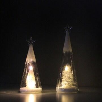 LED 샤인 스타 화이트트리 대 테이블조명