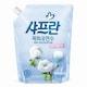 LG생활건강 샤프란 목화유연수 순한 산들바람 리필 1.8L (1개)_이미지