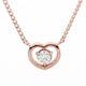 벨라카사 14K 티아 하트 다이아몬드 목걸이 10013554_이미지