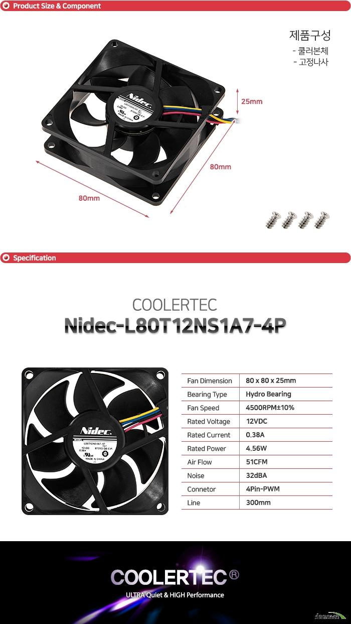 Nidec L80T12NS1A7-57
