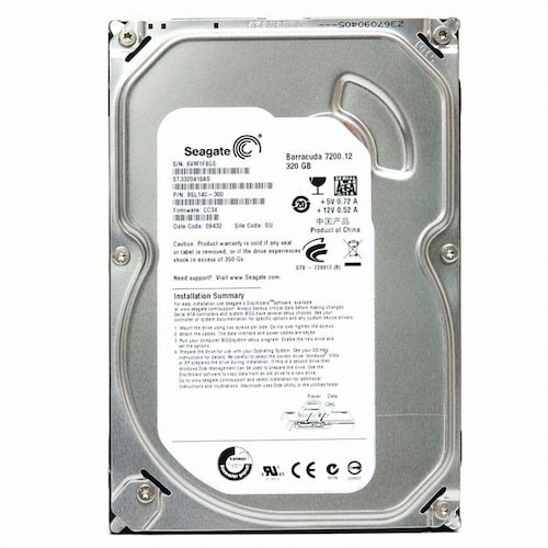 Seagate  320GB BarraCuda 7200.12 ST3320418AS (SATA2/7200/16M)_이미지