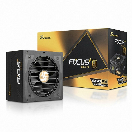 시소닉 FOCUS Plus Series SSR-650FX 650W Gold Full Modular