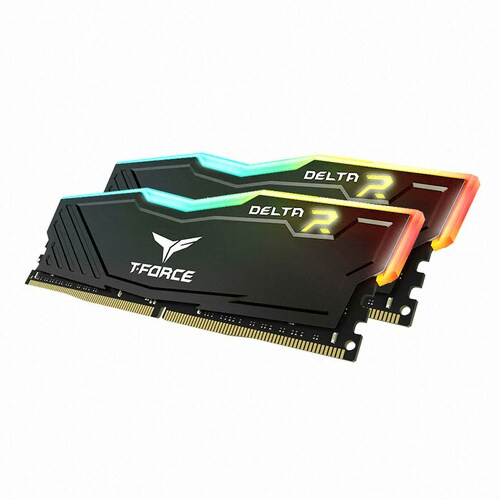 TeamGroup T-Force DDR4 16G PC4-21300 CL16 Delta RGB (8Gx2) 가넷