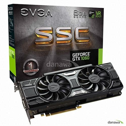 EVGA  지포스 GTX1060 SSC GAMING D5 6GB_이미지