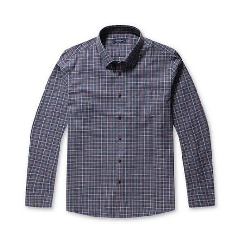 코오롱인더스트리 브렌우드 클래식 체크 포켓 셔츠 BRSAW17454BUX_이미지