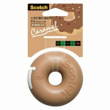 카라멜 듬뿍 도넛 매직테이프