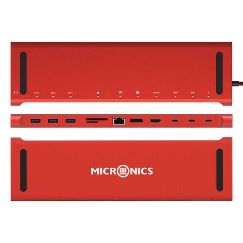 마이크로닉스 MN-1002 (12포트/USB 3.0 Type C/멀티포트)_이미지