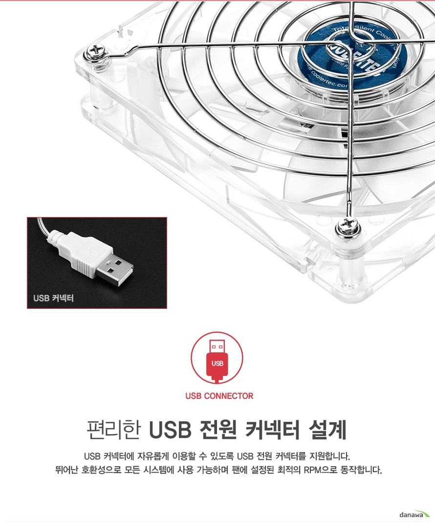 COOLERTEC USB-14025-CLG1