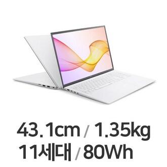 LG전자 2021 그램17 17ZD90P-GX50K (SSD 256GB)_이미지